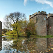 Whittington castle Shropshire - Stock Photo