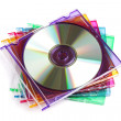 Stock Photo: CD or DVD case