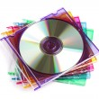 CD or DVD case — Stock Photo