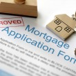 Approved mortgage application — Stock Photo #24522481
