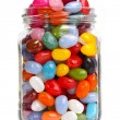 Jellybeans in a jar — Stock Photo #24524927