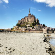 Mont St Michel Normandy France - Stock Photo