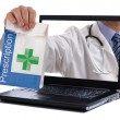 Stock Photo: Internet pharmacy