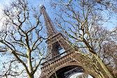 De toren van eiffel, parijs — Stockfoto