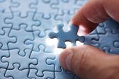 Last puzzle piece — Stock Photo