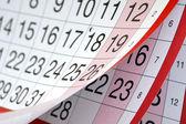 Calendário — Foto Stock