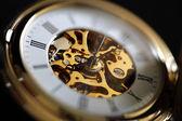 Starožitné kapesní hodinky — Stock fotografie