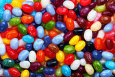 Colorful jellybean background — Stock Photo