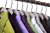 Clothes on a hanger — Stock Photo