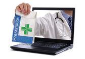 互联网药学 — 图库照片