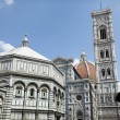 Piazza del Duomo Florence Italy — Stock Photo #24531797