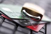 Credit card security — Stock Photo