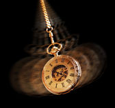 Hypnotizing pocket watch — Stock Photo