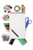 Office or student stationary — Stock Photo