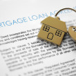 Mortgage application — Stock Photo #24541977