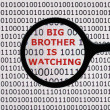 Постер, плакат: Big brother is watching