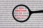 Wielki brat patrzy — Zdjęcie stockowe