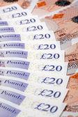 Britse bank notes — Stockfoto