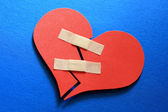 Mend a broken heart — Stock Photo