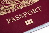UK passport — Stock Photo