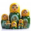 Matryoshka - Russian nested dolls — Stock Photo #24552925