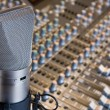 Stock Photo: Studio microphone