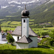 Village church in the tirol — Stock Photo