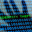 Identity theft online - Stock Photo