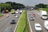 Motorway traffic — Stock Photo