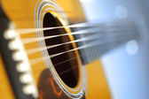 Acoustic guitar — Stockfoto