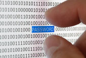 Sicurezza password — Foto Stock