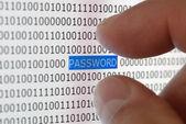 Sicurezza password — Foto Stock
