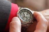 Saat denetimi — Stok fotoğraf