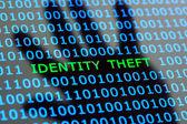 Identity theft online — Stock Photo