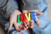 Чайлдс любовь — Стоковое фото