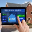 Remote home control — Stockfoto