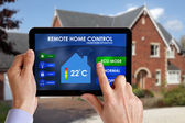 Remote home control — Stock Photo