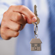 Giving house keys — Stock Photo #31682477
