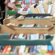 Used book sale — Stock Photo