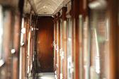 Carrozza del treno d'epoca — Foto Stock