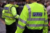 British police — Stock Photo