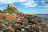 Holy Island of Lindisfarne — Stock Photo