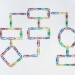 Paper clip organization chart — Stock Photo #35188121