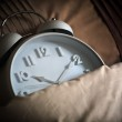 Sleeping alarm clock — Stock Photo #38031093
