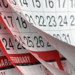 Calendar — Stock Photo #41783913