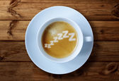 Morning caffeine — Stock Photo