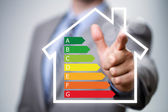 Energy efficiency in the home — Stock Photo
