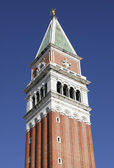 Campanile bell tower in Venice — Stock Photo