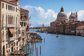 Grand Canal-Venedig, Italien — Stockfoto