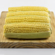 Corn on Prep Board 02 — Stock Photo